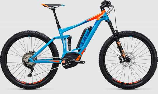 """CUBE 17 Stereo Hybrid 140 HPA Race 500 27,5"""""""