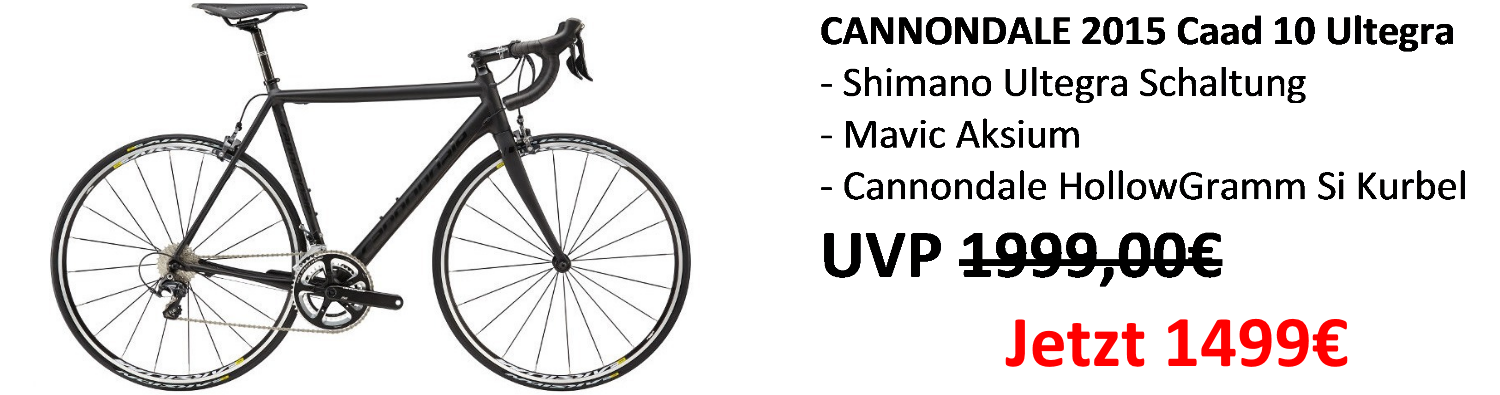 5 Banner Cannondale Caad 10